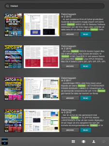 Fulltextsökning i alla nummer av Datormagazin med Paperton