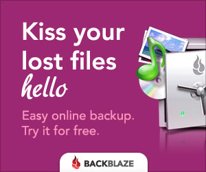 Backblaze affiliate